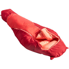 VAUDE Alpli Adjust 400 Syn Sleeping Bag Children red